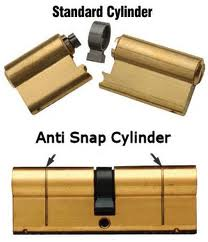 what are anti snap cylinder locks