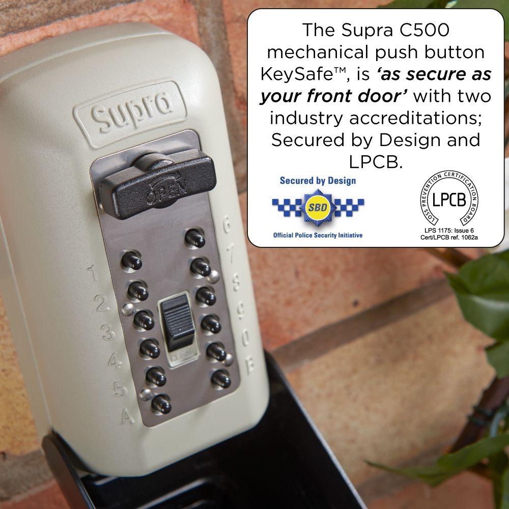supra key safe